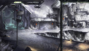 Snow - Factory - Stand