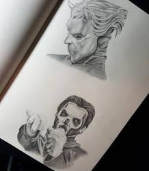 Ghost sketch by Divinor