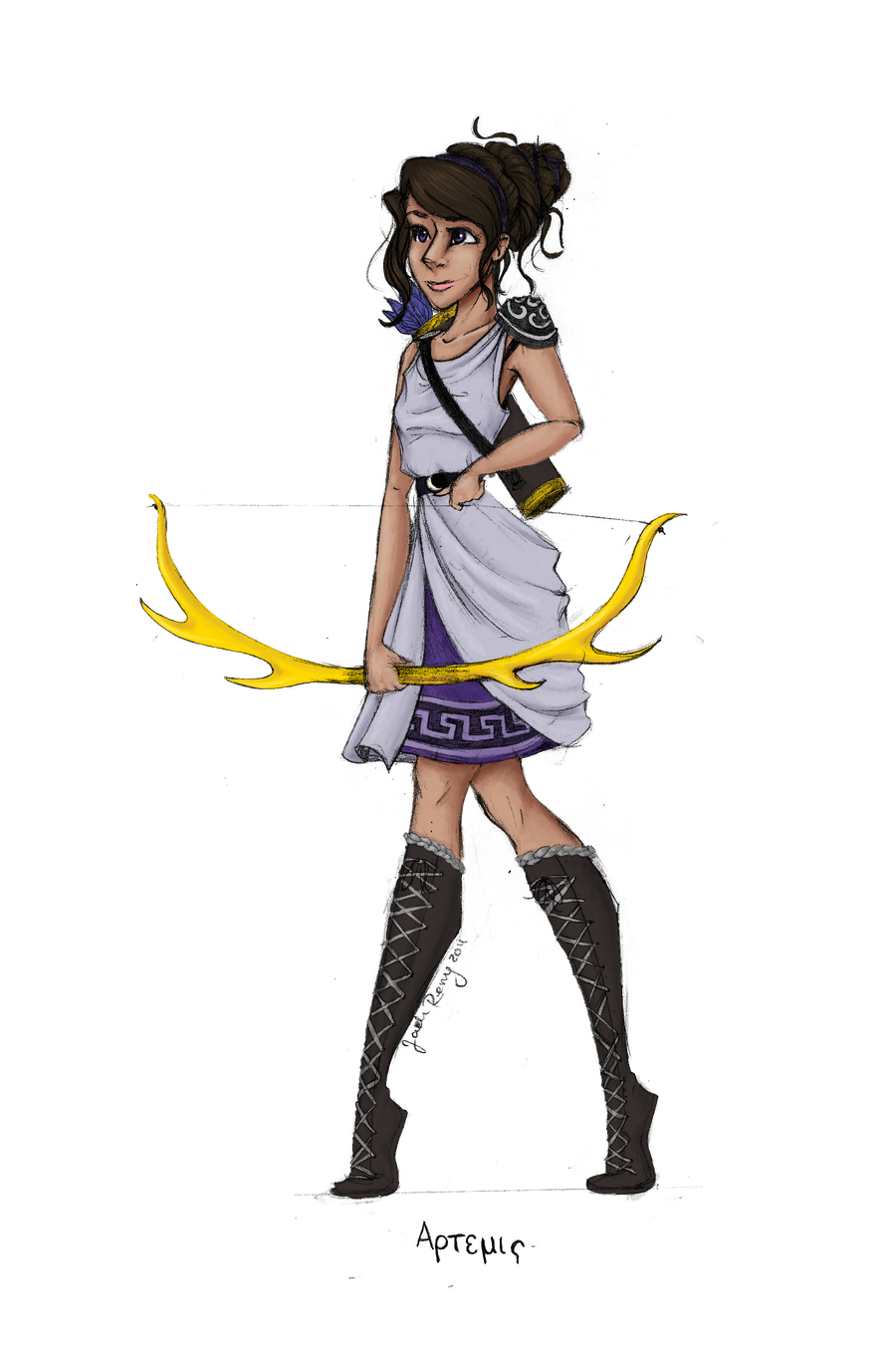 Hera Greek Goddess Cartoon Cartoon goddess greek