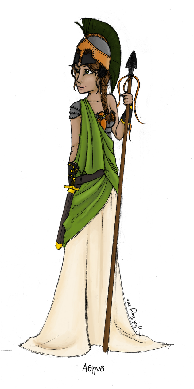 Hera Greek Goddess Cartoon Greek goddess: athena by