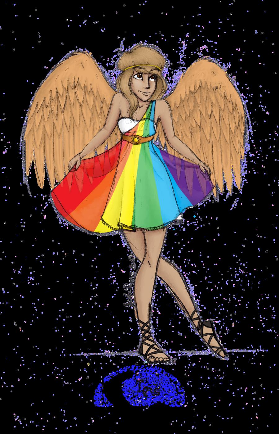 Greek Goddess: Iris by JadeAriel