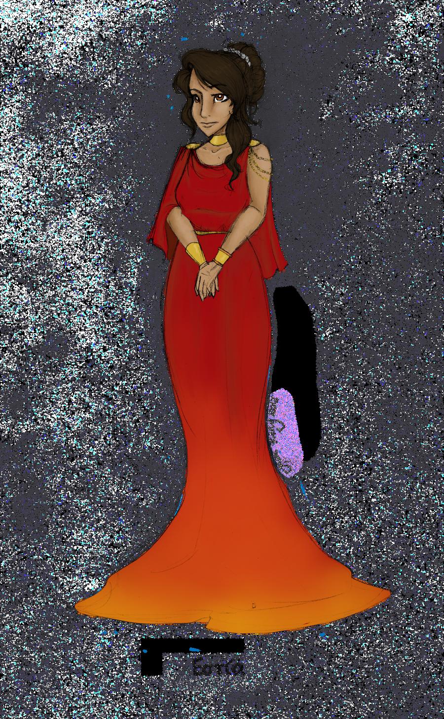Greek Goddess: Hestia by JadeAriel on deviantART