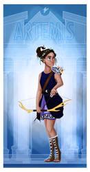 Greek Goddess - Artemis by JadeAriel