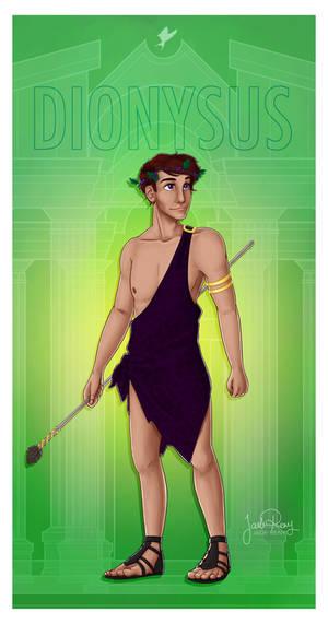Greek Gods - Dionysus PRINT