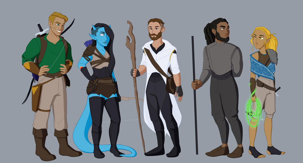 Dungeons and Dragons by JadeAriel