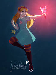 Star Butterfly by JadeAriel