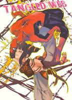 Kick of the spider woman by okazuwa-shake