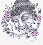 Buddha , tattoo design