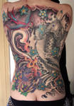 mixed backpiece