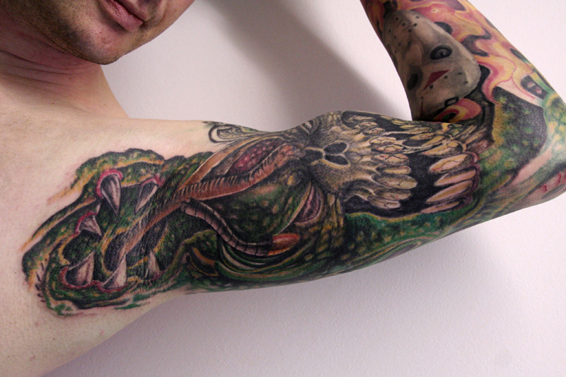 inner arm custom tattoo by graynd