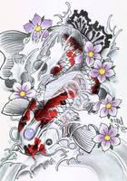 koi sketch2 by graynd