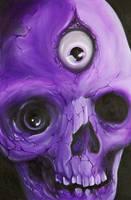oil on canvas...skull by graynd
