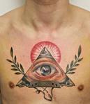 freemason on chest