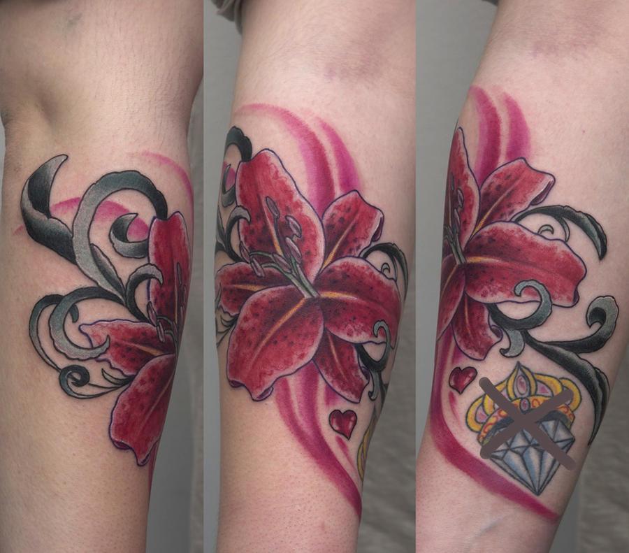1st flower 2011 - flower tattoo