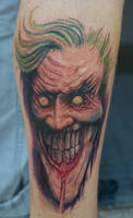a joker tattoo