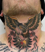 eagle tattoo by graynd