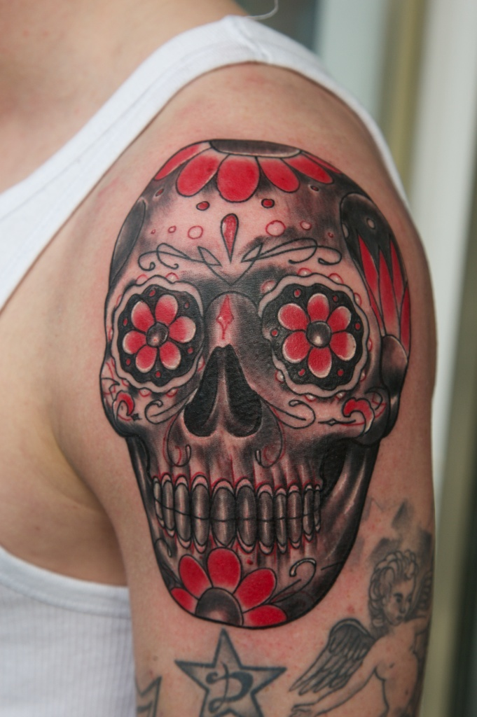 mexican skull by graynd