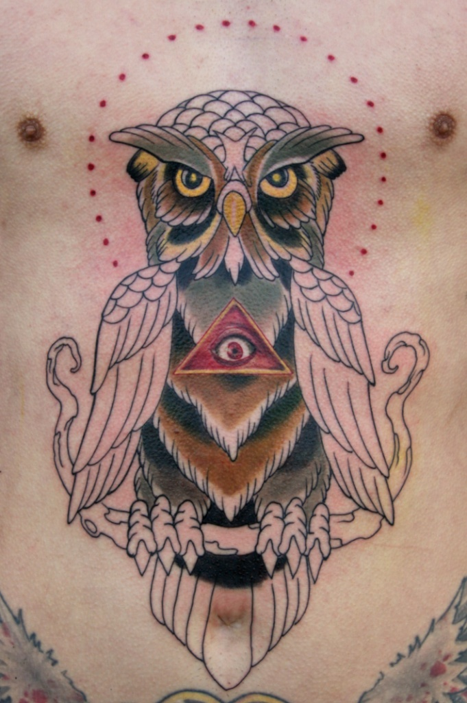 illuminati owl tattoo designs