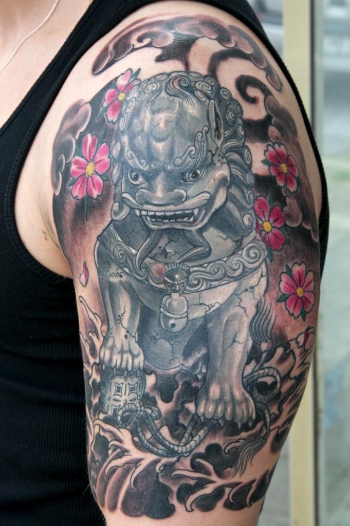 Guardian Lion Tattoo Inspirations Guardian Lion Foo