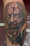 zombie tattoo