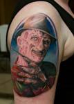 freddy krueger tattoo
