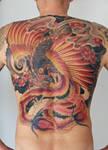 phoenix backpiece in progress...