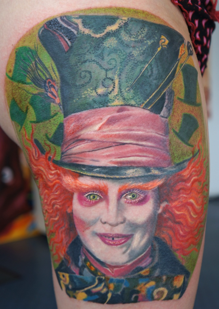 mad hatter tattoo by graynd on DeviantArt