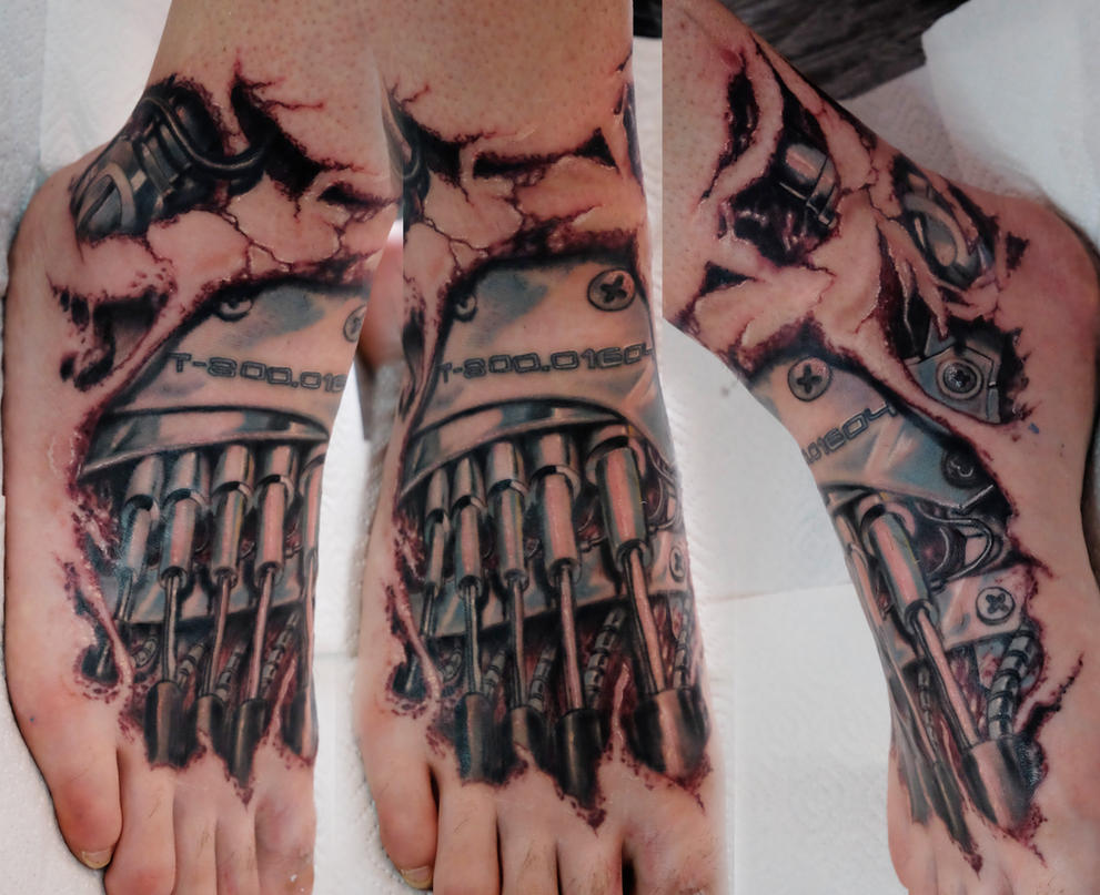 Terminator foot by graynd