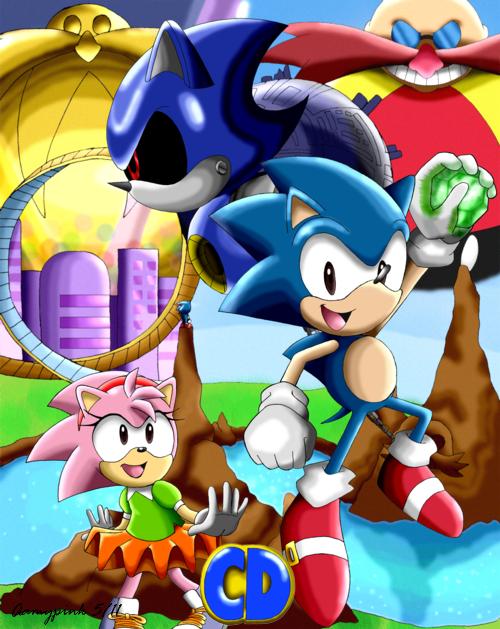 Sonic Cd By Aamypink On Deviantart