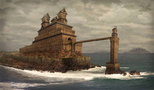 Ancient Seaside Castle