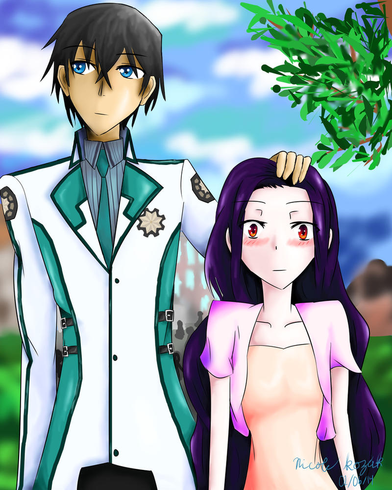Manga Images D N A Miyuki Wallpaper And Background: Mahouka Koukou No Rettousei Fan Art By D3ghtcbu On DeviantArt