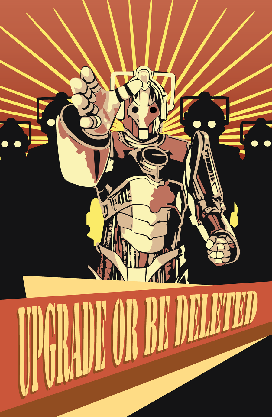 The Cybermen by PiePirate