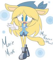 Maria Robotnik - Mobian Style - Marie Mink by LuckyClau