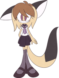 Marilyn the Cat .OLD-NEW OC. by LuckyClau