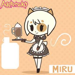 Aggretsuko - Miruku - Aggretsona