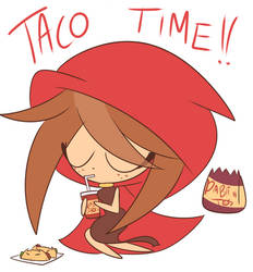 It's taco time~ Hazbin Hotel Holly