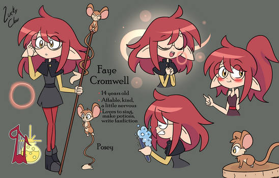 Faye Cromwell - The Owl House OC - Witchsona