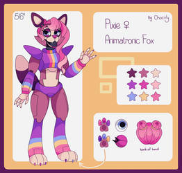 Pixie The Fox [REFERENCE SHEET]