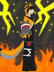 ElrokFox ''Fire Lightning strike'' by ElrokFoxx