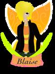Blaise (Comm. Sapphiremantis) by ElrokFoxx