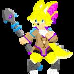 Lullya Pixel by ElrokFoxx