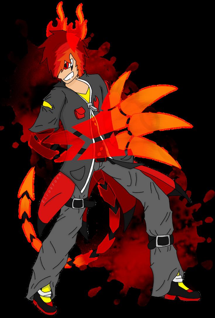 Cerin the Vengeful by ElrokFoxx