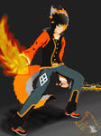 Shock N' Blaze  by ElrokFoxx