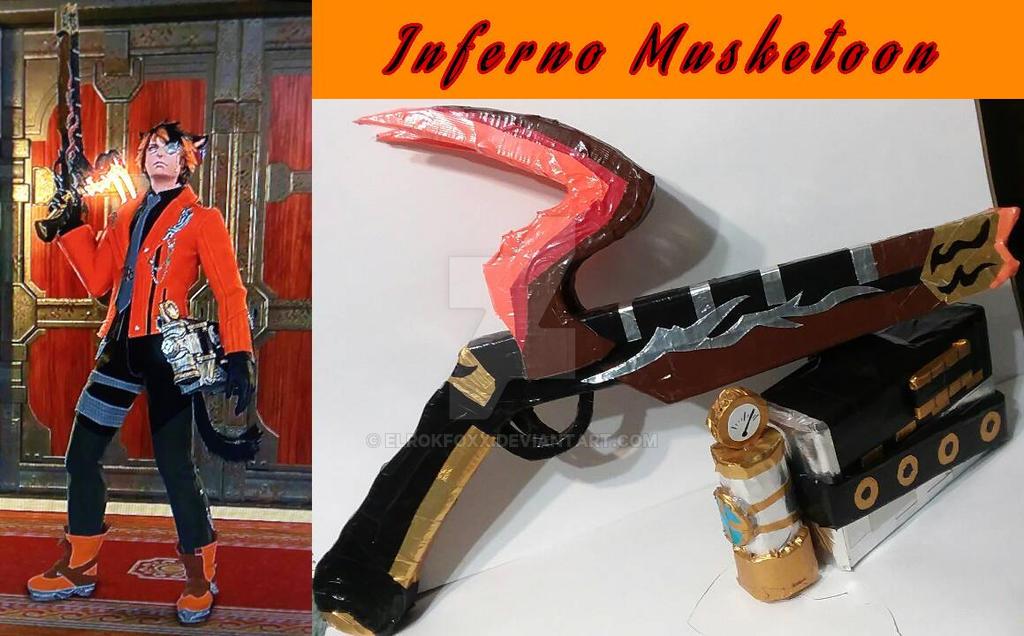 Inferno Musketoon  by ElrokFoxx