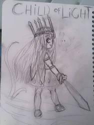sketch :  fanart child of light