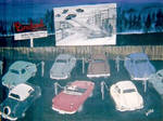 Drive-In Movie in The '50's