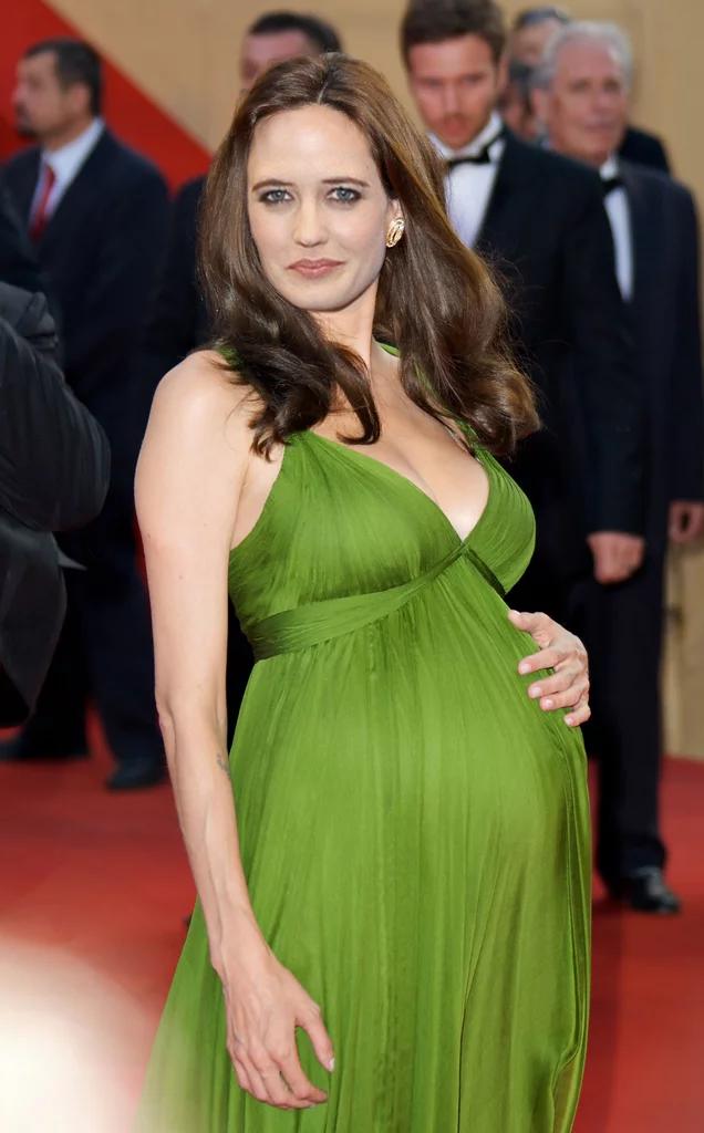 Pregnant Eva Green by Zedilll on DeviantArt