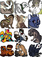 Icons and Open for Pixel Icon Commissions by Anipul