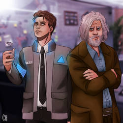 Connor and Hank