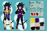 Shiga Ref [Dragon Ball OC] by PokeGirl151